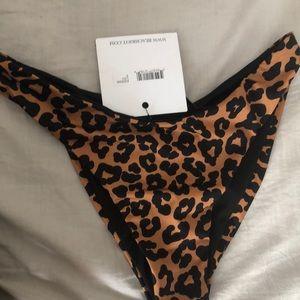 Beach Riot Leopard Bikini Bottom